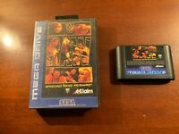 Sega Megadrive WWF wwe raw wrestling   mega drive Uk version