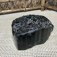 1436g Natural Black Tourmaline Crystal Stone Gem Original Specimen 03
