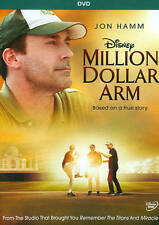 WALT DISNEY MILLION DOLLAR ARM DVD JON HAMM-BILL PAXTON-SURAJ SHARMA-M.MITTAL WS
