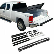 Fit 1999-2017 Ford F250 F350 F450 8ft Bed Tri-Fold Soft Tonneau Cover Assemble