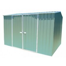 ECO Gable Roof 3m x 2.26m Double Door Colour Garden Shed 10 Years Warranty