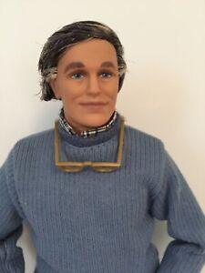 Grandpa Doll Grandparent Happy Family Barbie Ken Excellent Condition
