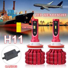 Csp H11 Led Headlight Bulb Conversion Kit 6000K Hi/Lo Beam 150W Canbus Emc Lamp