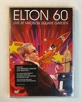 Elton 60 Elton John 60 Birthday Live At Madison Square Garden 2 Disc DVD Set New