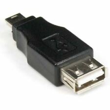 USB2.0 A-Female to Mini USB 2.0 B-Male 5Pin Converter Adapter Gender Changer