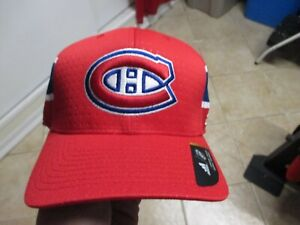"""MONTREAL CANADIENS """"ADIDAS"""" (DRAFT) FLEX FIT HAT (L/XL) NWT $30 STRUCTURED NICE"""