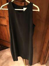 CYNTHIA ROWLEY Women's Sleeveless Silk Shift LBD Dress Lined 6 Small S