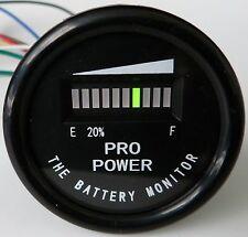 PRO12-48M ™ for 12 Volt  Battery Indicator, Meter Marine Trolling Mtr, Solar
