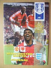 FA Cup Semi Final 1999- MANCHESTER UNITED v ARSENAL, 11th April