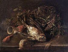 Barocke künstlerische Malerein aus Holz