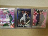 2019-20 Panini Giannis Antetokounmpo Lot Mosaic Optic Pink Camo MVP Purple Prizm