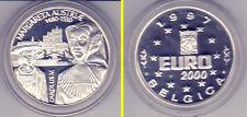 1997 - Belgien - EURO 2000 - Margareta & Carolus V. - AG - PP - NUR 12500 Ex