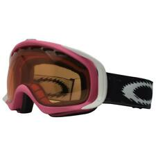 Oakley 02-391 Crowbar Hot Pink w/ Persimmon Lens Snow Board Ski Womens Goggles .