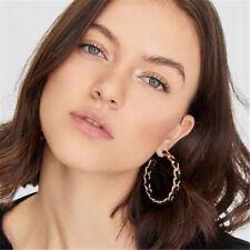 Fashion Large Circle Geometry Metal Earring Boho Dangle Earrings Women Jewelry