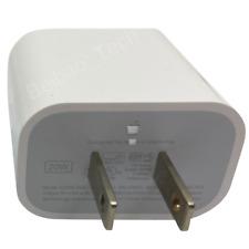 Apple 20W PD rápido USB-C Cargador de pared adaptador de corriente para iPhone 12 Mini 11 Pro Max