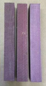 Purple Heart | Amaranth | Drechselholz | Tonholz | Tonewood | 400 x 50 x 50 mm