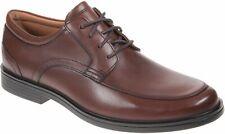 Clarks Un Aldric Park Men's Tan Leather Formal Shoes Size UK 7 1/2G
