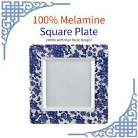 6 Pieces Dinnerware Set Dinner Plate Dishes Dinnerware Sets Square Dessert Plate
