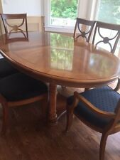 oval dining room set by stanley furniture - Stanley Furniture Dining Room Set