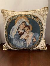 Newport Nativity Decorative Pillow 16x16 Inches Christmas