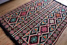 135 cm x 200 cm Orientalischer Teppich,Rug,Kelim,Carpet aus Damaskunst S 1-4-48