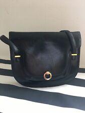 vintage bally handbag Black Shoulder Bag 1970s