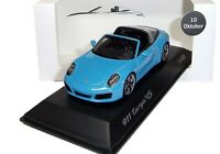 1:43 SPARK 2016 PORSCHE 911 991 II Targa 4S Porsche Platz Ed. 10/16 MUSEUM PROMO
