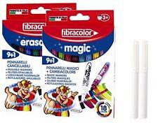 Fibracolor Colour Change Magic Pens & Erasable Magic Pens Combined plus Extra