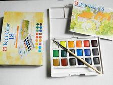 Sakura Petit  Quality 18 Water Colour Pocket Size Sketch Traveller Set