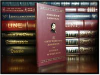 The Gettysburg Address and Other Writings by Abraham Lincoln New Leather Bound