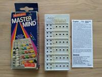 Vintage Mini Mastermind Strategy Code Breaking Game Waddingtons Complete! Age 8+
