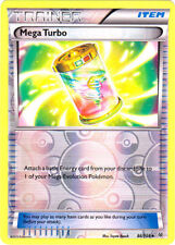 Pokemon TRAINER MEGA TURBO 86/108 UNCOMMON REVERSE FOIL MINT CARD