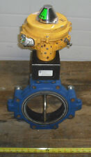 """ABZ 6"""" Cast Iron Butterfly Valve  W/ S.S. Disc & Kinetrol Actuator/switch"""