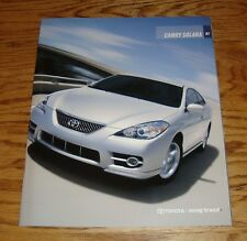 Original 2007 Toyota Camry Solara Sales Brochure 07