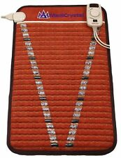 MediCrystal Far Infra-Red V-Mat - FIR PEMF Amethyst Heating Pad - Mini 20x32