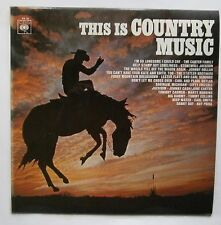 LP Various - This Is Country Music Uk 1967 CBS PR 20 Johhny Cash June Carter Nm