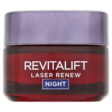 L'Oreal Revitalift Laser Renew Night 50ml Cream Mask Anti Ageing Moisturiser