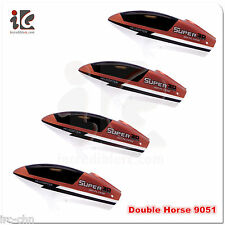 4X HEAD COVER CANOPY DOUBLE HORSE DH 9051 3CHANNEL R/C HELICOPTER PARTS 9051-23