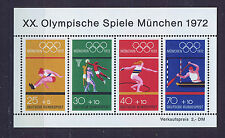 ALEMANIA/RFA WEST GERMANY 1972 MNH SC.B490 Olympic Games München