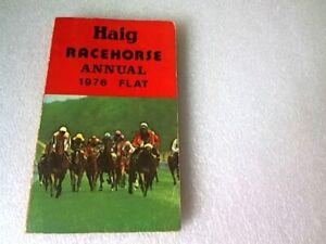 Haig Racehorse Annual Flat Edition 1976 (paperback)