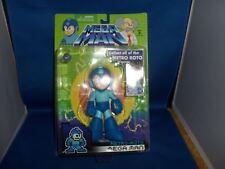 Megaman 15.2cm Raro Retrò Roto Action Figure da Collezione Giocattolo Blu