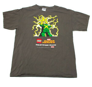 Lego Marvel Super Heroes Youth Tee Shirt Large