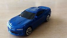 MAISTO - 2016 CHEVROLET CAMARO SS    BLUE     1/64  *NEW*