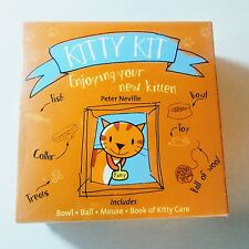 Kitty Kit Care Book Bowl Ball Mouse Toy Enjoying Your New Kitten great for kids