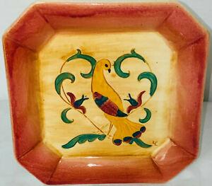 """Pennsbury Pottery 6 1/2"""" YELLOW PEA HEN WALL POCKET*"""