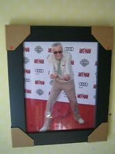 Marvel Stan Lee {} Excelente mano firmada fotografía {8 X 10} Enmarcado + certificado De Autenticidad