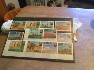 Liberia Unmounted Mint Stamps Lot
