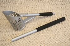 Two Piece Tall Perforated Aluminum Sand Scoop