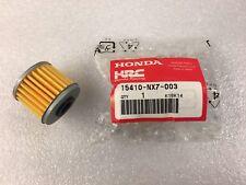 Honda NSF250R Moto3 ELEMENT COMP., OIL FILTER : 15410-NX7-003