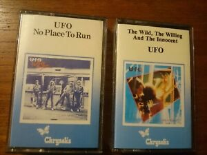 UFO No Place To Run/The Wild,The Willing And The Innocent Tape Cassettes.